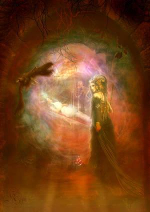 La bruja de Blancanieves by Quijuka