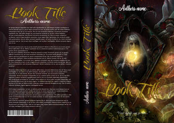 Lillith 3 Book Cover by Quijuka
