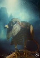 Fantasy Creature Rateagoat by Quijuka