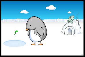 funky penguin by J-Ro-20