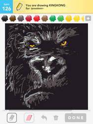 Draw Something King Kong By Shyfaerie On Deviantart