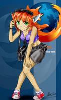 Firefox-tan by AphexAngel