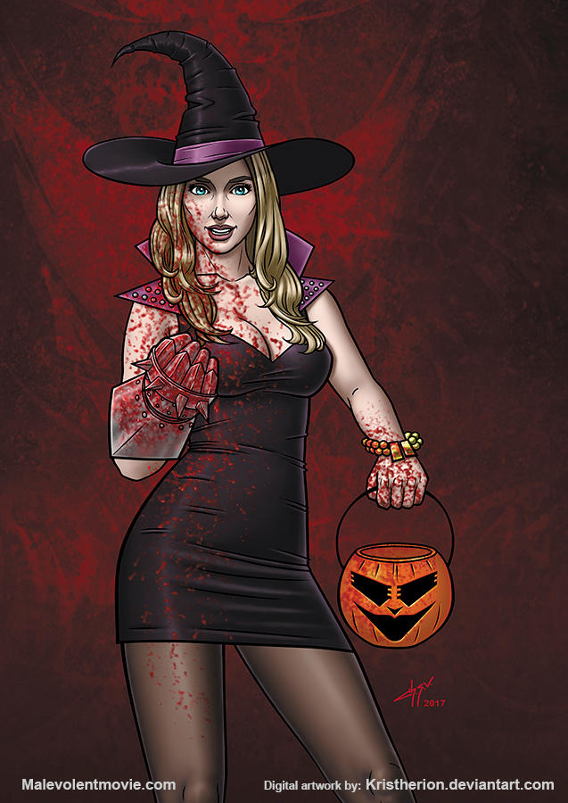 Malevolent Movie Kelsey Halloween by Kristherion