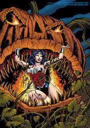 Wonder Woman halloween by Rene Micheletti by Kristherion