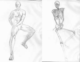 Anatomy and the Live Model Wk8 by SmilinJack