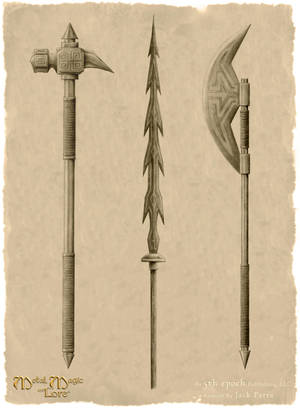 Dwarven Weapons Collection by SmilinJack