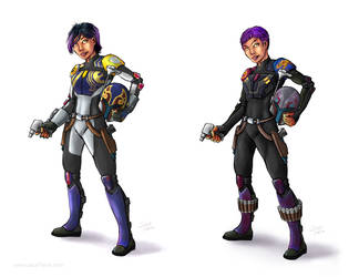 Sabine Season 4 and Epilogue Outfits by SmilinJack