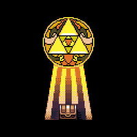 Triforce by oni1ink