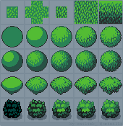 Tutorial: How to draw Foliage by oni1ink