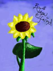 Sunflower by AnnElfwind