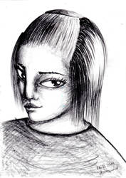 Evil look - Ebil by AnnElfwind
