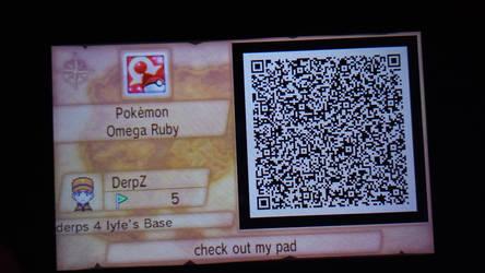 ORAS base QR code by DerpinZ