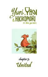 Yuri Yaoi and Hikikomori in the garden [cover5] by ZelaznaWola