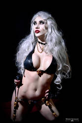 Lady Death Cosplay by XeveriaNordskov