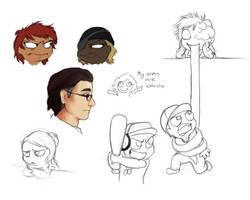 Livestream Doodles 2 by MelvisMD