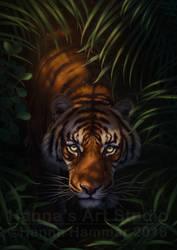 Bengal Tiger. Creative title is creative - PRINTS! by HannasArtStudio