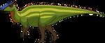 Saurolophus Coloured by codylake
