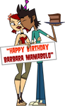 B-Day Present for Barbara Mamabolo - Ver. 2 by codylake
