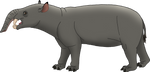 Astrapotherium by codylake