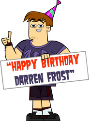 B-Day Present for Darren Frost by codylake
