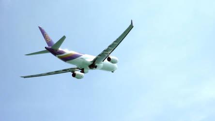 Thai Airways A330 Phuket Departure (HS-TEO) by Karlamon