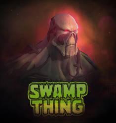 Swamp Thing  Monstro do Pantano  Fanart by uAll