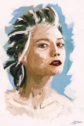 Mia Wasikowska by asifshuvo