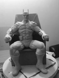 Batman WIP by sanyaca