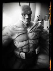 Batman Close up by sanyaca