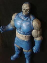 Darkseid sculpture WIP 3 by sanyaca