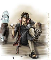 OMG, drunken Itachi by Nivalis70