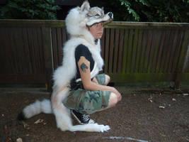 Custom white wolf 5 by lupagreenwolf