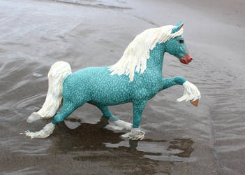 New Breyer Custom: Poseidon! by lupagreenwolf