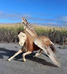 Rachis - Custom Breyer Pegasus by lupagreenwolf
