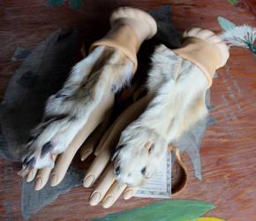 Wolf Handflowers by lupagreenwolf