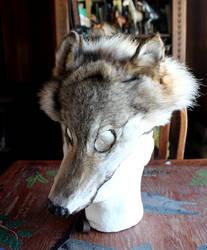 Wolf Mask by lupagreenwolf
