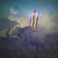 Elephant Travel by barbranz
