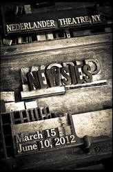 Newsies Letterpress Poster by itsOgden