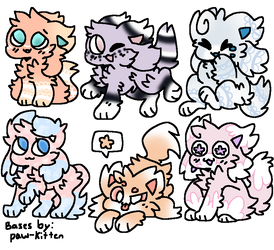 Kittydog Adopts (1) (Open!) by FlickerFlameh