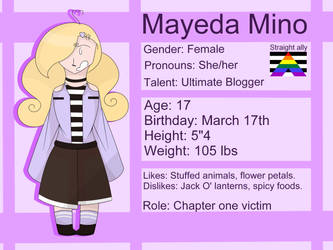 (TOS) Mayeda Mino by FlickerFlameh