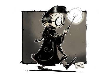 Harry Potter by basschel