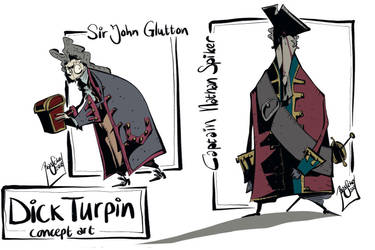 Spiker and Glutton by basschel