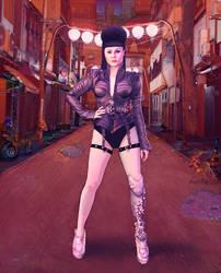 Viktoria Modesta by MadWlad