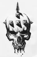 Vampire Skull by maxromaine