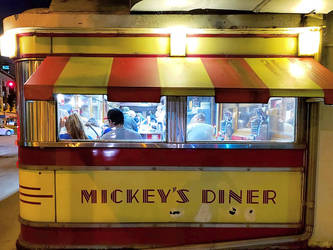 The people in Mickey's Diner by sequential