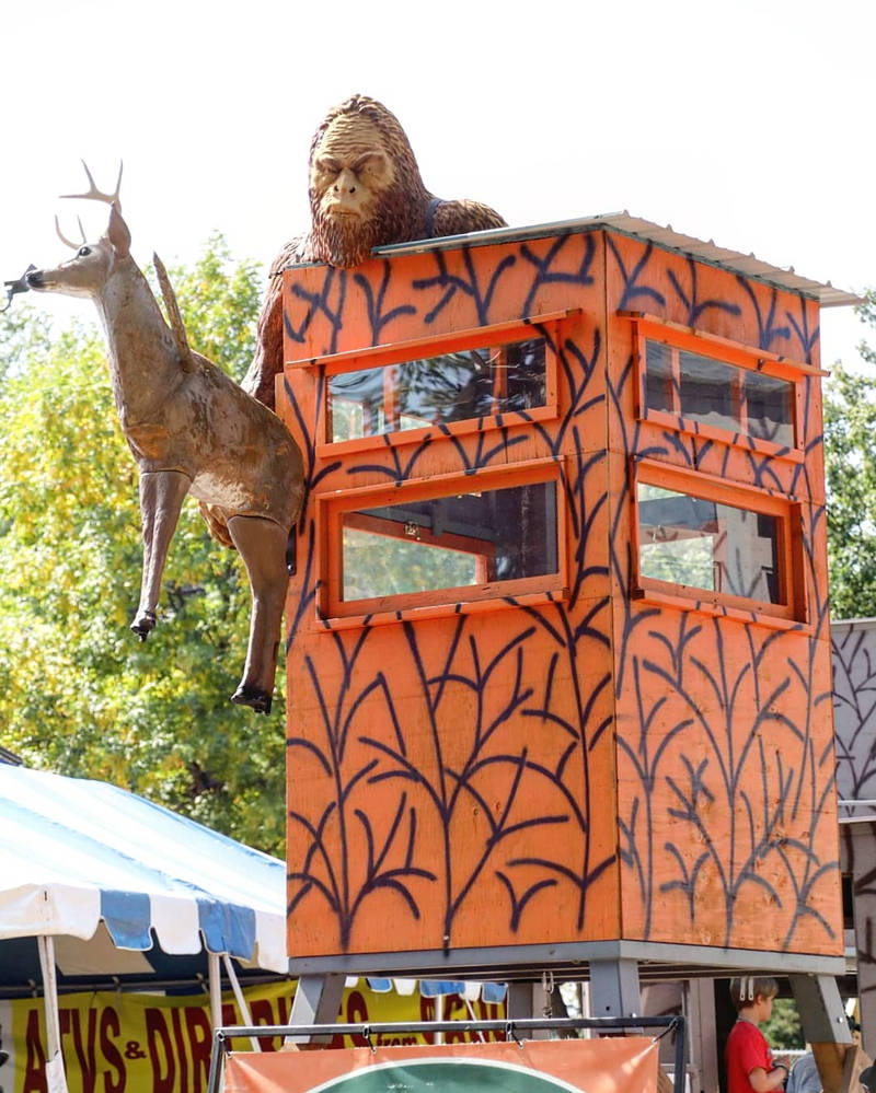 Bigfoot and deer-on-a-stick by sequential