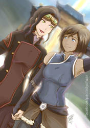 Korrasami - Come Back by kei111