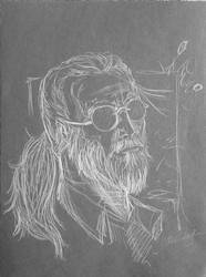 Old Man Hawkeye by chewco