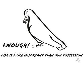 Crying Peace Dove by UnicornBaby