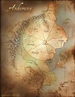 Anduruna Map - Redone by Dreamkeepers